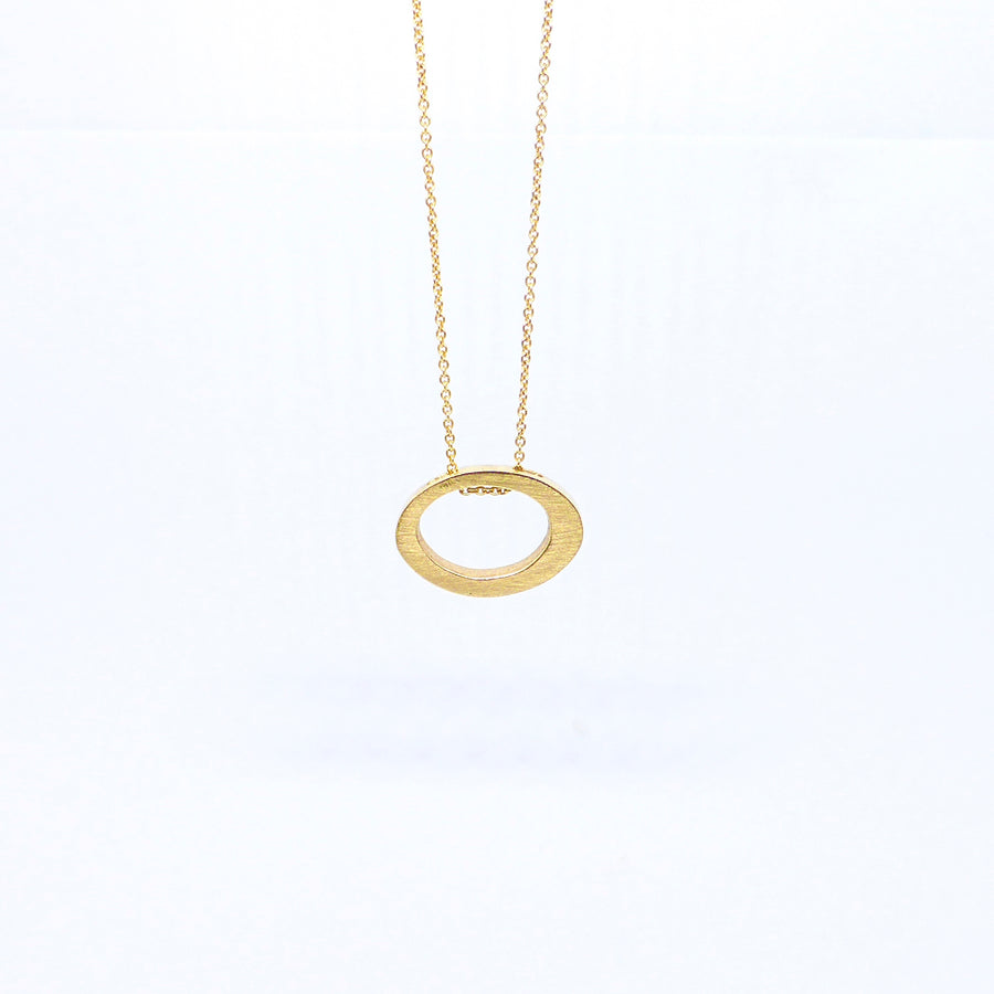 10ct gold pendant louise shaw