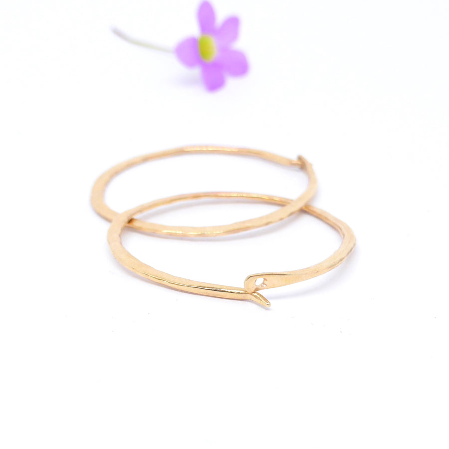 Gold hoop earrings Australia