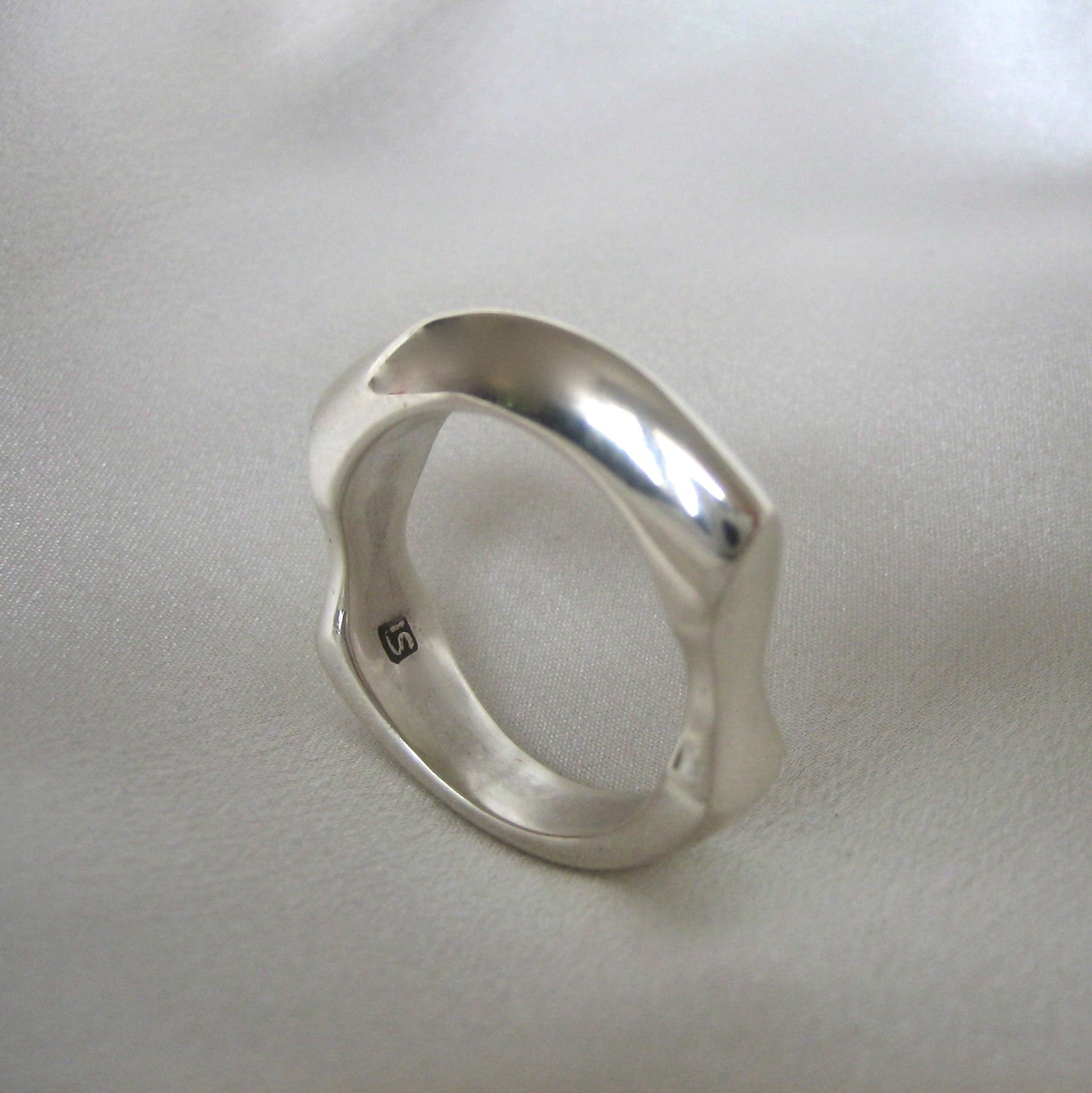 mens chain silver products ring atolyestone classic promised solid rings