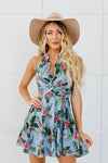Halter Rainforest Dress