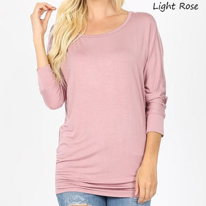 Flattering Dolman - More Colors