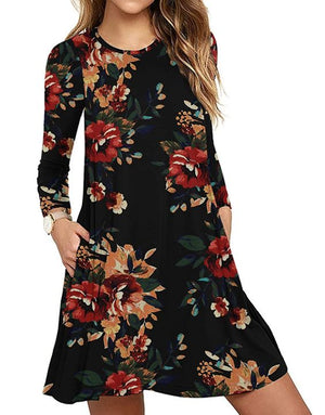 Floral Swing Dress - More Colors