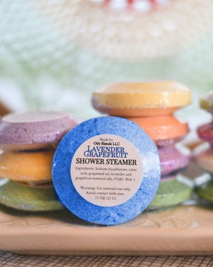 Handmade Essential Oil Shower Steamer Bombs