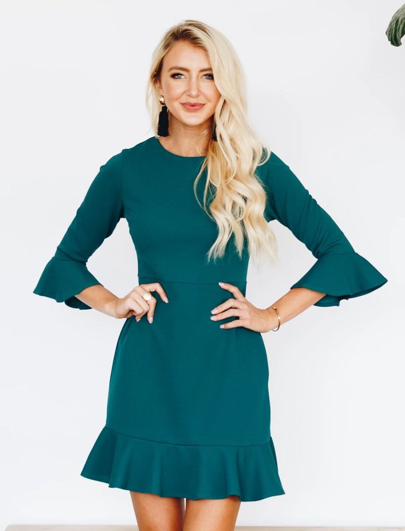 Mia Dress - Green