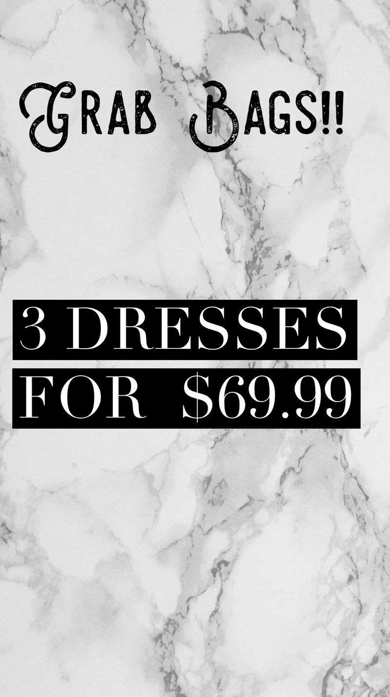 Surprise Dress Grab Bag - FINAL SALE