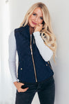 Quilted Puffer Vest- More Colors