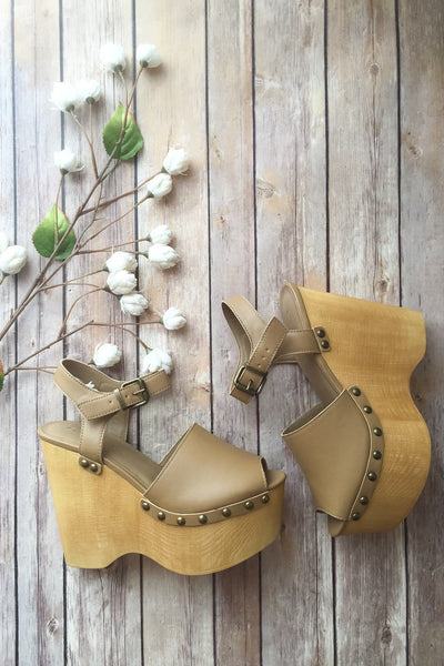 Under the Sun Wedges | Final Sale - Viva La Jewels Boutique