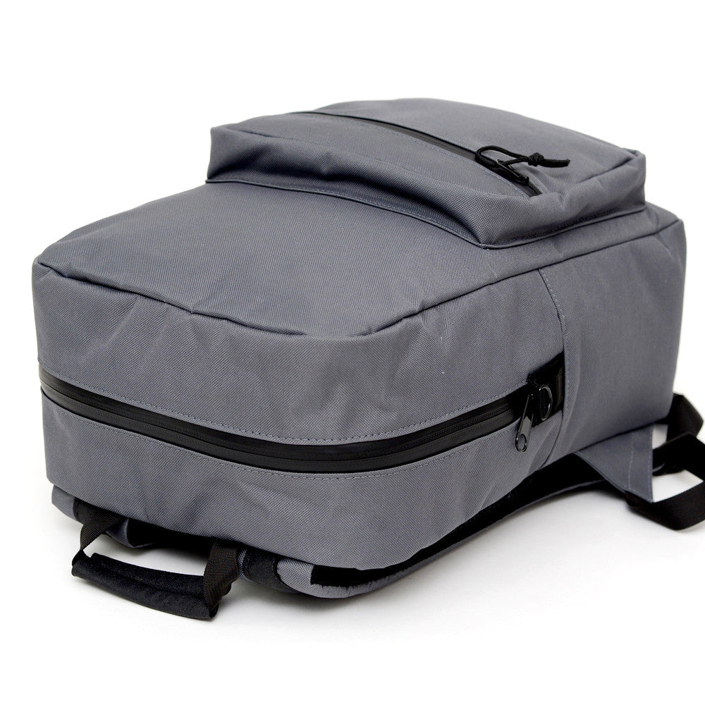 Odor Concealing Graphite Gray Backpack Alternate View