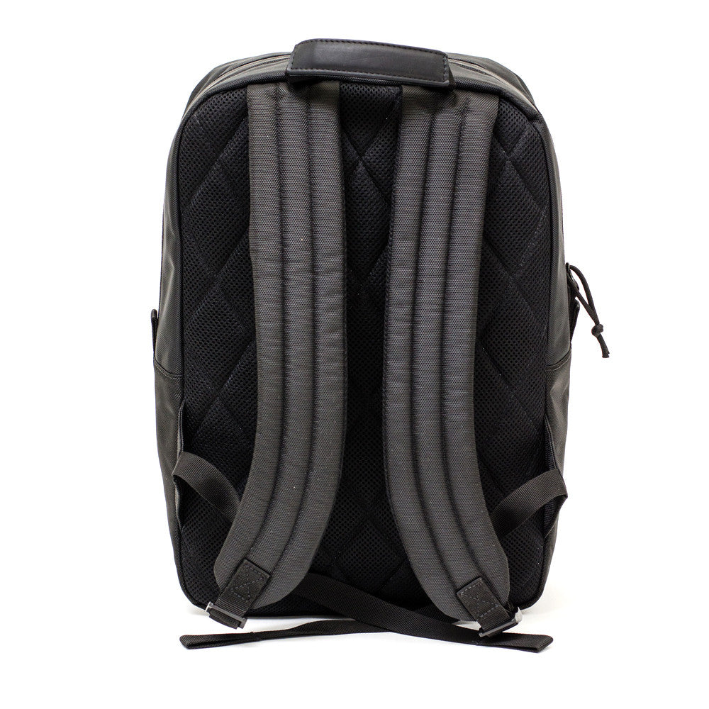 Black Ballistic Nylon Backpack Straps
