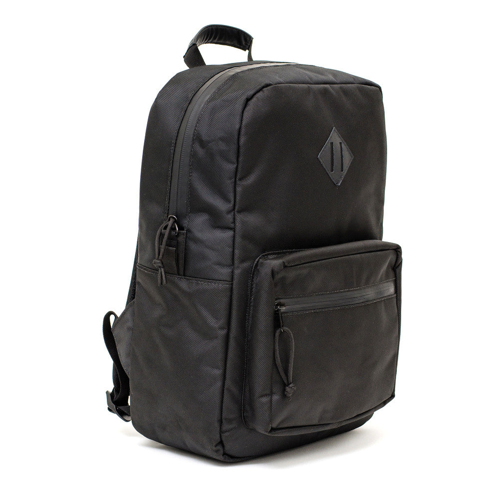 Black Ballistic Odor Absorbing Backpack