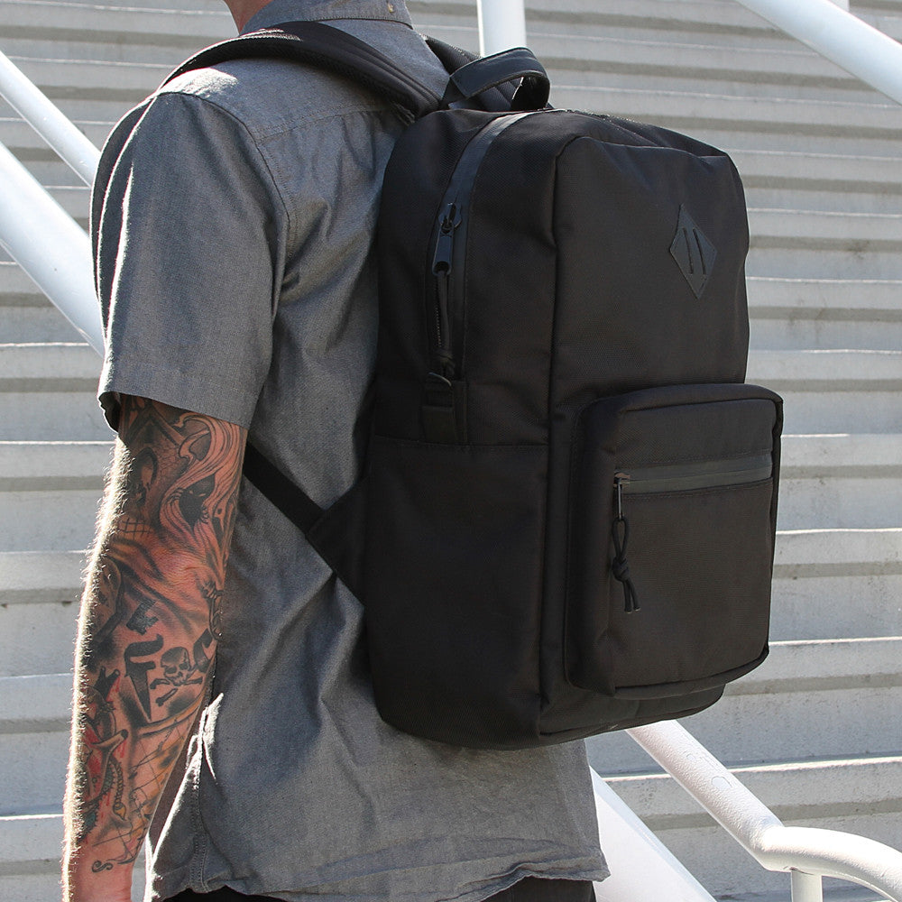 Black Ballistic urban smell proof backpack