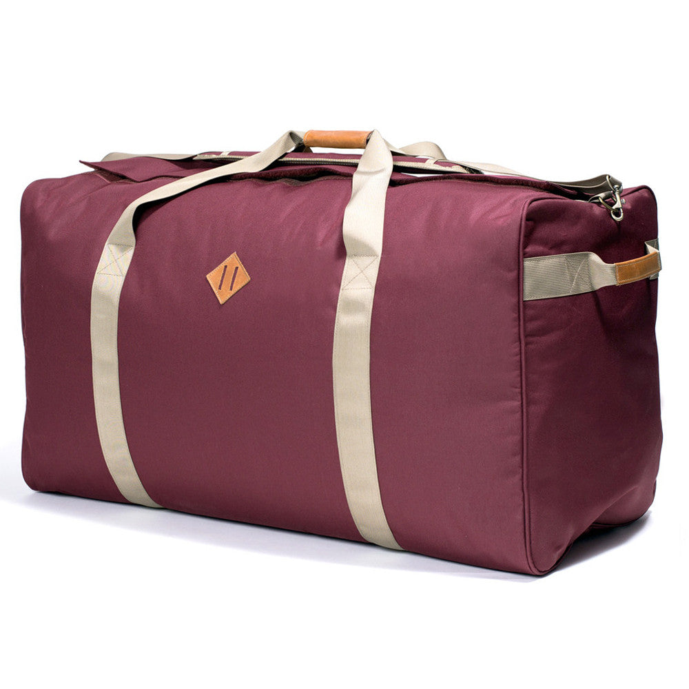 Extra Large Burgundy Crimson Odor Hiding Duffel Bag