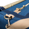Extra Large Midnight Blue Scent Proof Duffel Bag Zipper