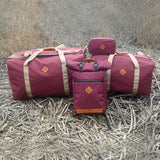 Scent Proof Carbon Bag Crimson Burgundy Collection