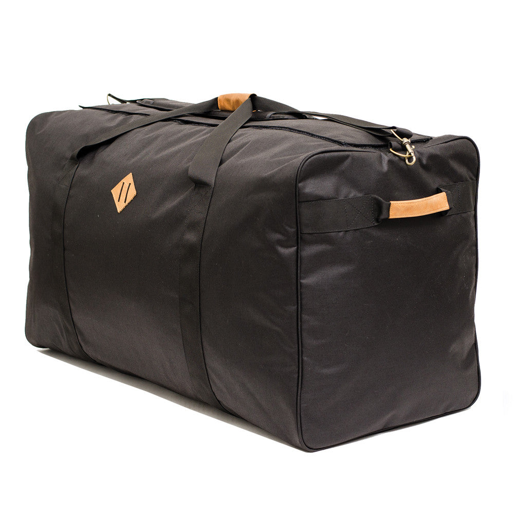 Smell Proof Medium Large Black Duffel Bag