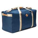 Odor Proof Medium Large Midnight Blue Duffel Bag Side View