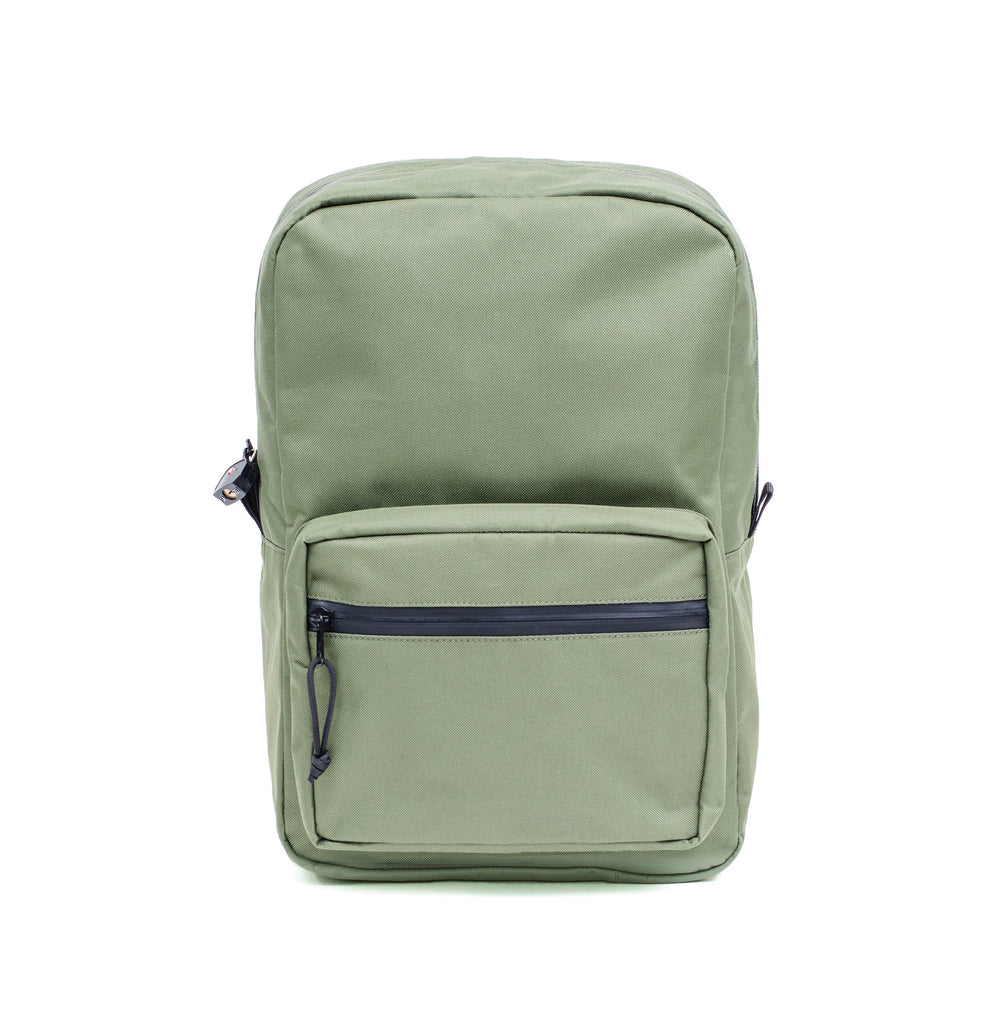 Odor Proof Backpack Olive Green
