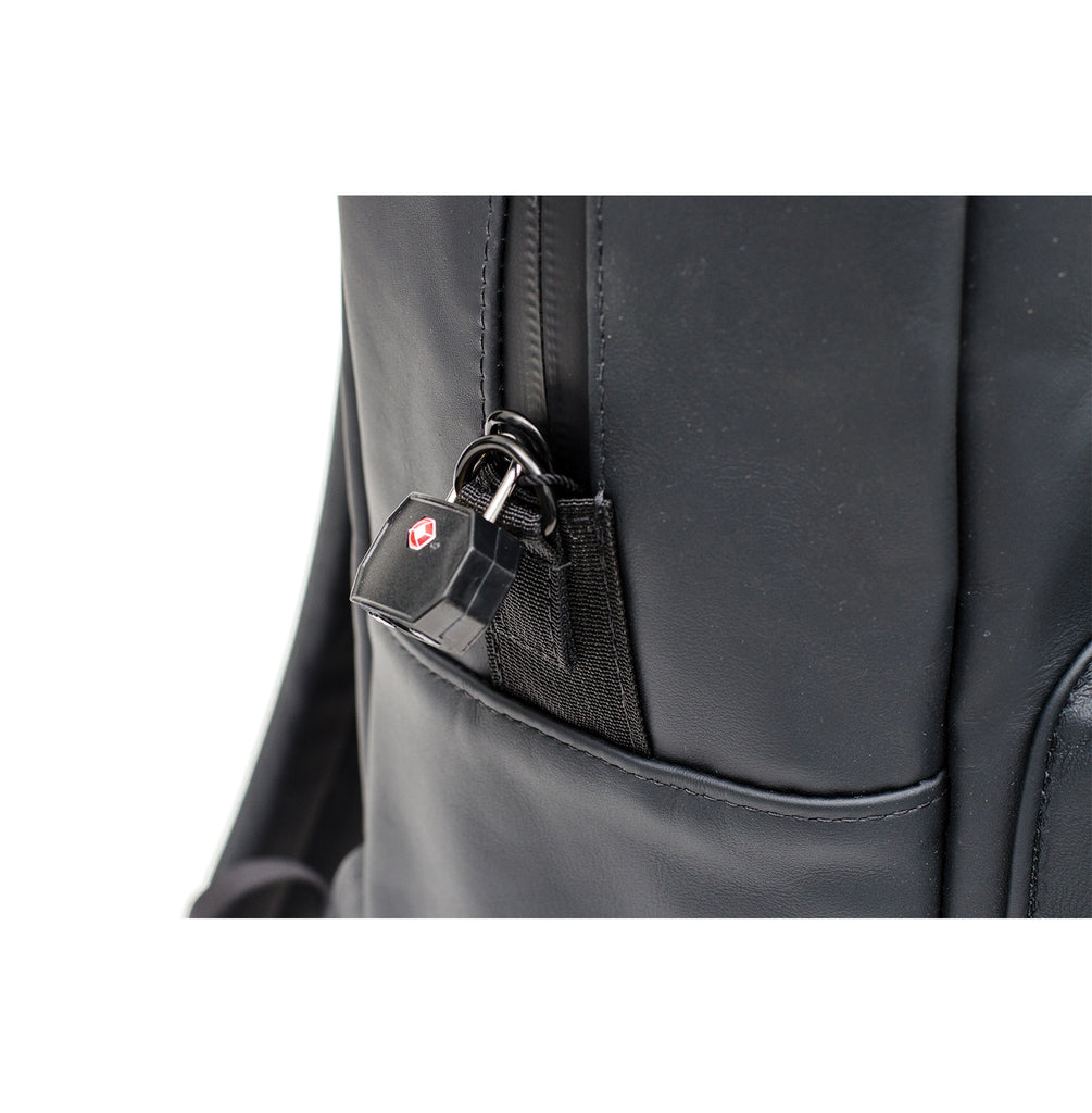 Lockable Leather Odor Proof Bag