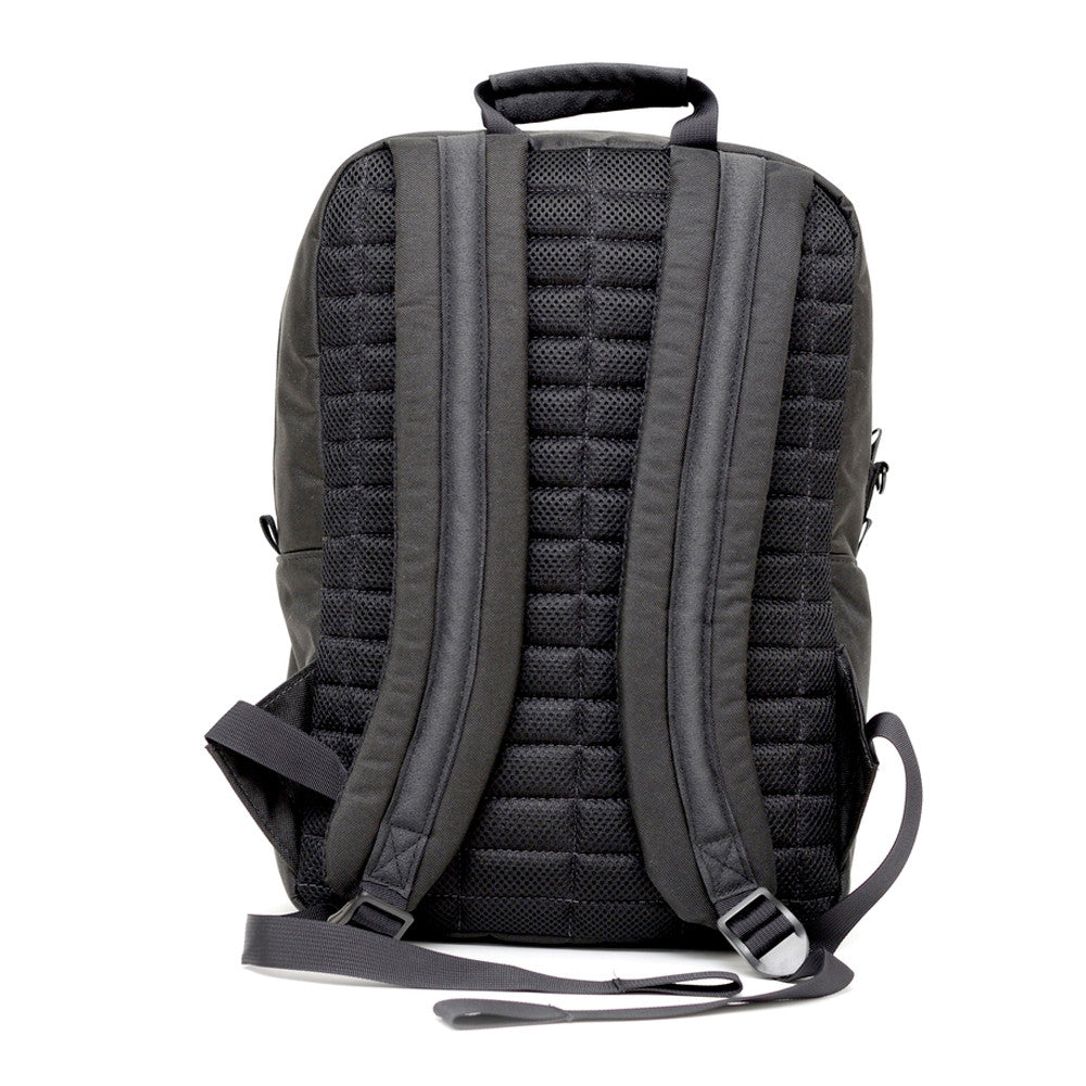 Odor Proof Black Backpack Straps