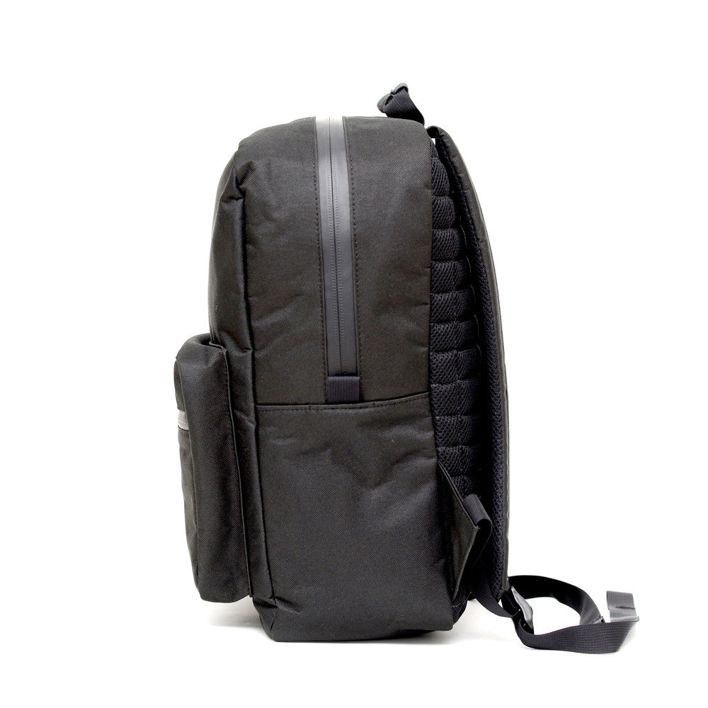 Odor Proof Black Backpack Other Side