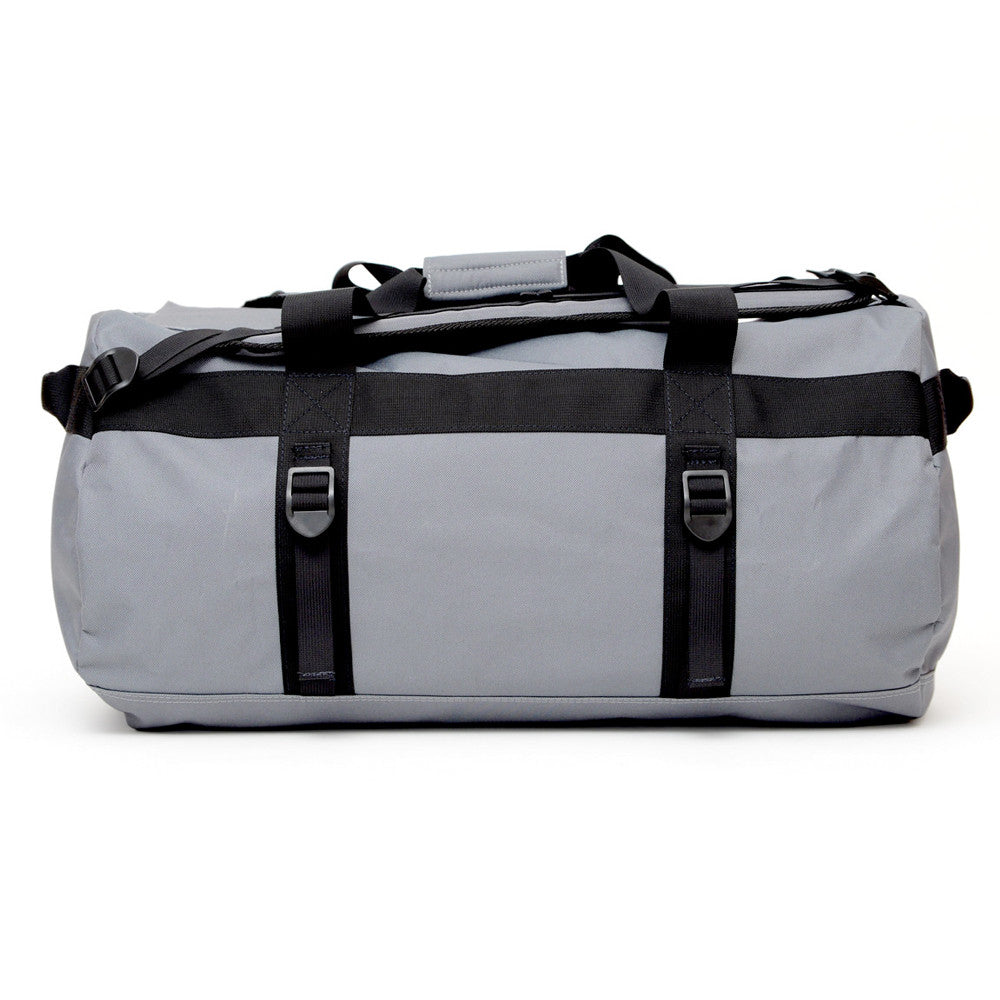 Smell Concealing Medium Duffel Bag Graphite Gray Side