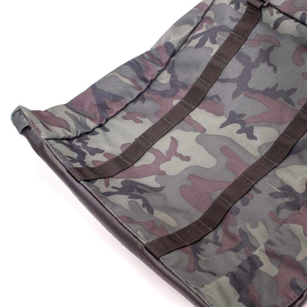 Roll Top Odor Concealing Backpack Black Forest Camouflage Top