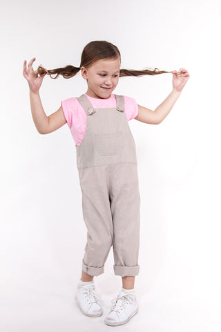 Kids Overall in Grey (Unisex)