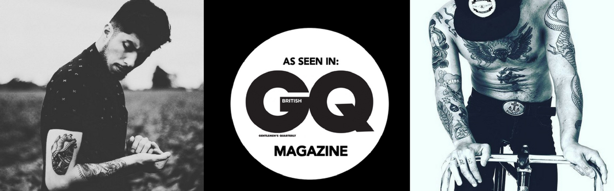 GQ tattoo banner