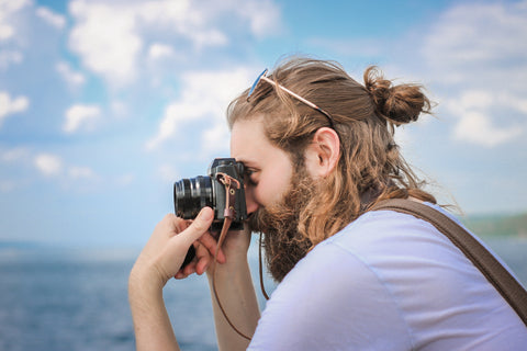 Beard Wanderlust Camera View