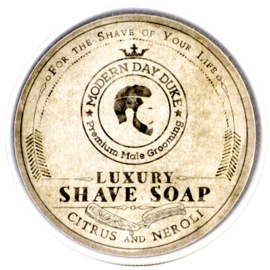 Luxury shave soap