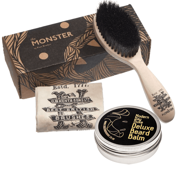 Monster Beard Brush and Beard Balm