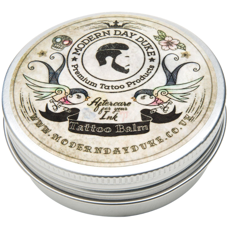Tattoo aftercare balm for tattoo healing