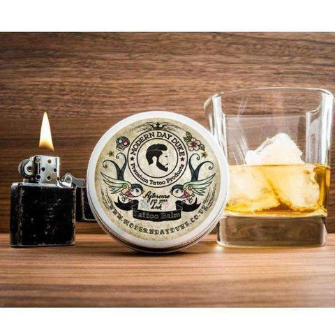 Tattoo Care Balm Tin Lighter Whisky