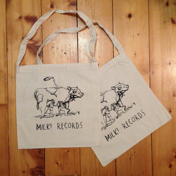 MILK! RECORDS Cow TOTE BAG