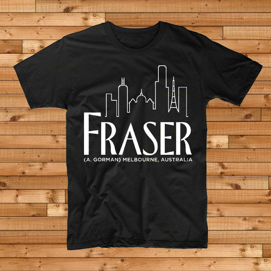 FRASER A. GORMAN Skyline TSHIRT. TSHIRT. Official merchandise exclusive to Milk! Records Store.