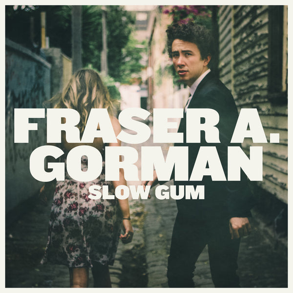 "FRASER A. GORMAN Slow Gum. 12"" VINYL, CASSETTE, CD, DIGITAL. Official merchandise exclusive to Milk! Records Store."