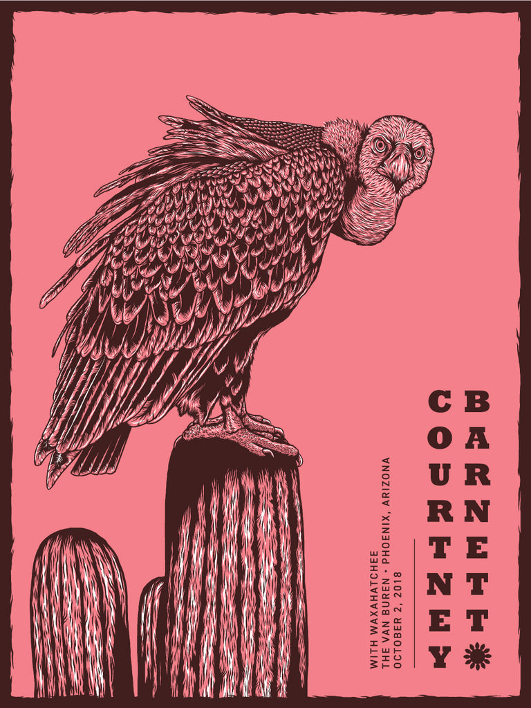 COURTNEY BARNETT [PHOENIX - 2 OCTOBER 2018 - PETER GRUPICO] Assorted Tour Posters