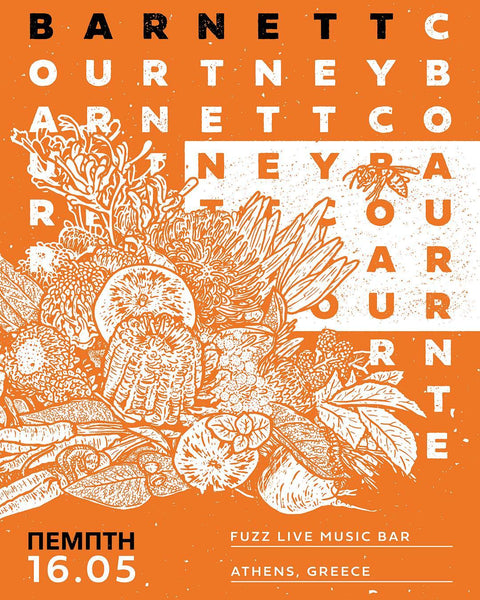 COURTNEY BARNETT [ATHENS - 16 MAY 2019 - ANNIE WALTER] Assorted Tour Posters