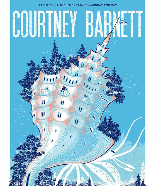 COURTNEY BARNETT [LA ROCHELLE - 27 MAY 2019 - SABRINA GABRIELLI] Assorted Tour Posters