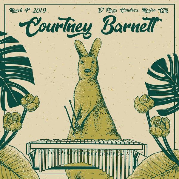 COURTNEY BARNETT [MEXICO CITY - 4 MARCH 2019 - SALVADOR VERANO C.] Assorted Tour Posters