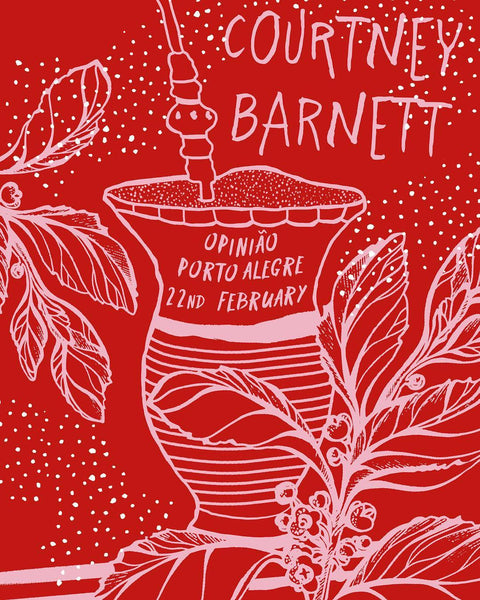COURTNEY BARNETT [PORTO ALLEGRE - 22 FEBRUARY 2019 - CAFUNE CALIENTE] Assorted Tour Posters