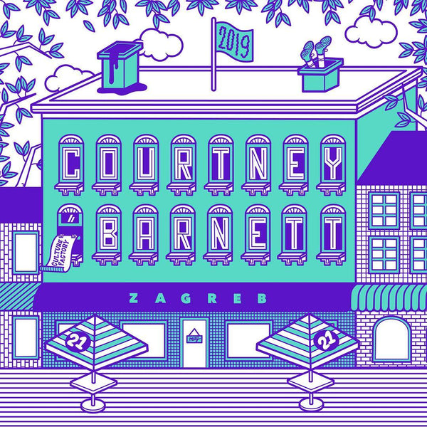 COURTNEY BARNETT [ZAGREB - 21 MAY 2019 - ELLEN PORTEUS] Assorted Tour Posters