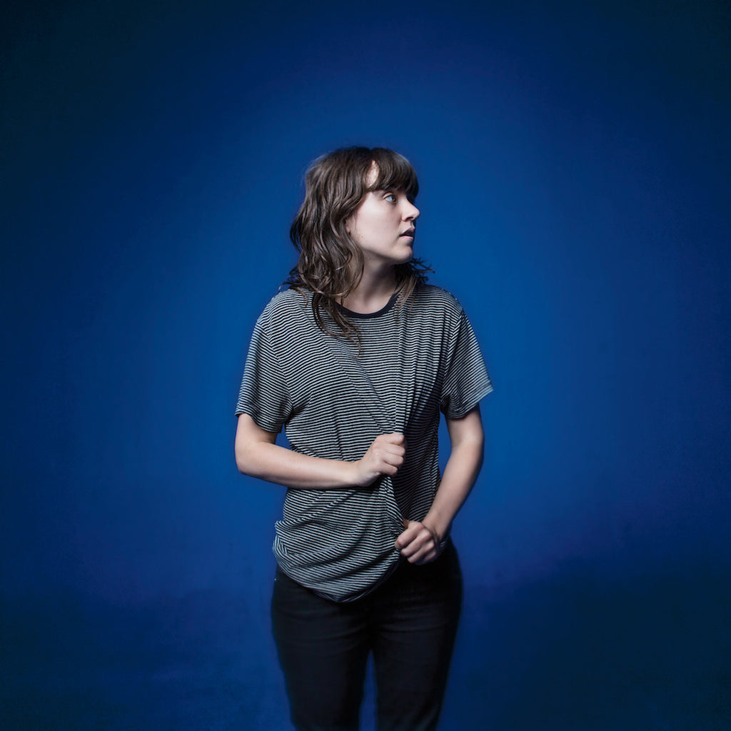 "COURTNEY BARNETT The Blue Series 7"" VINYL. 7"" VINYL, DIGITAL. Official merchandise exclusive to Milk! Records Store."