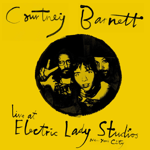 COURTNEY BARNETT Live At Electric Lady Studios. DIGITAL. Official merchandise exclusive to Milk! Records Store.