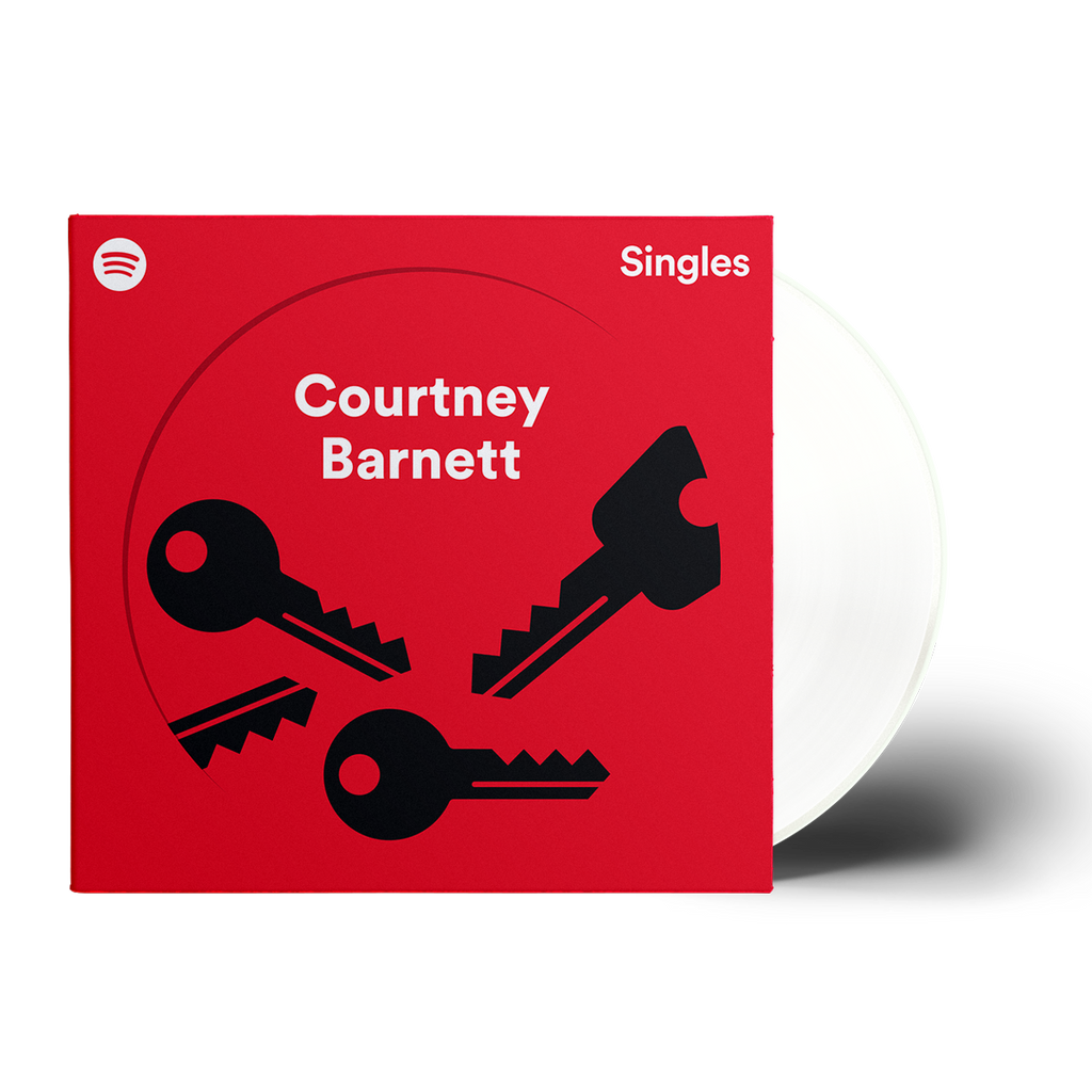 COURTNEY BARNETT Spotify Fans First Exclusive 7'' (WHITE VINYL)