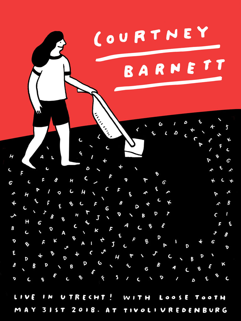 COURTNEY BARNETT [UTRECHT - 31 MAY 2018 - STEPH HUGHES] Assorted Tour Posters