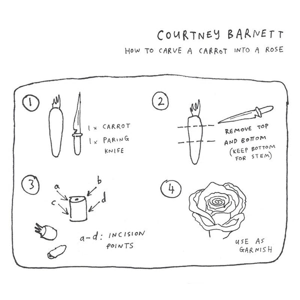 COURTNEY BARNETT How To Carve A Carrot Into A Rose EP. CD, DIGITAL, SALE. Official merchandise exclusive to Milk! Records Store.