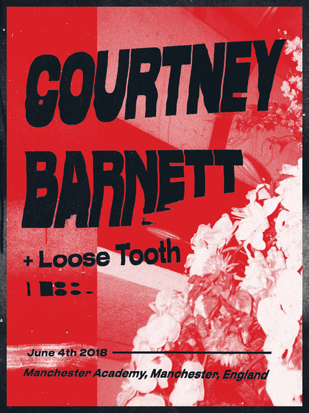 COURTNEY BARNETT [MANCHESTER - 4 JUNE 2018 - TOM HITCHCOCK] Assorted Tour Posters