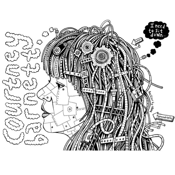 COURTNEY BARNETT Robot by Glenn Hustler [ARTIST SERIES] TSHIRT