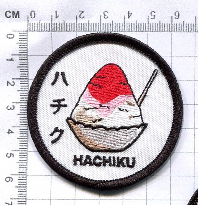 HACHIKU 'Japanese Dessert' PATCH